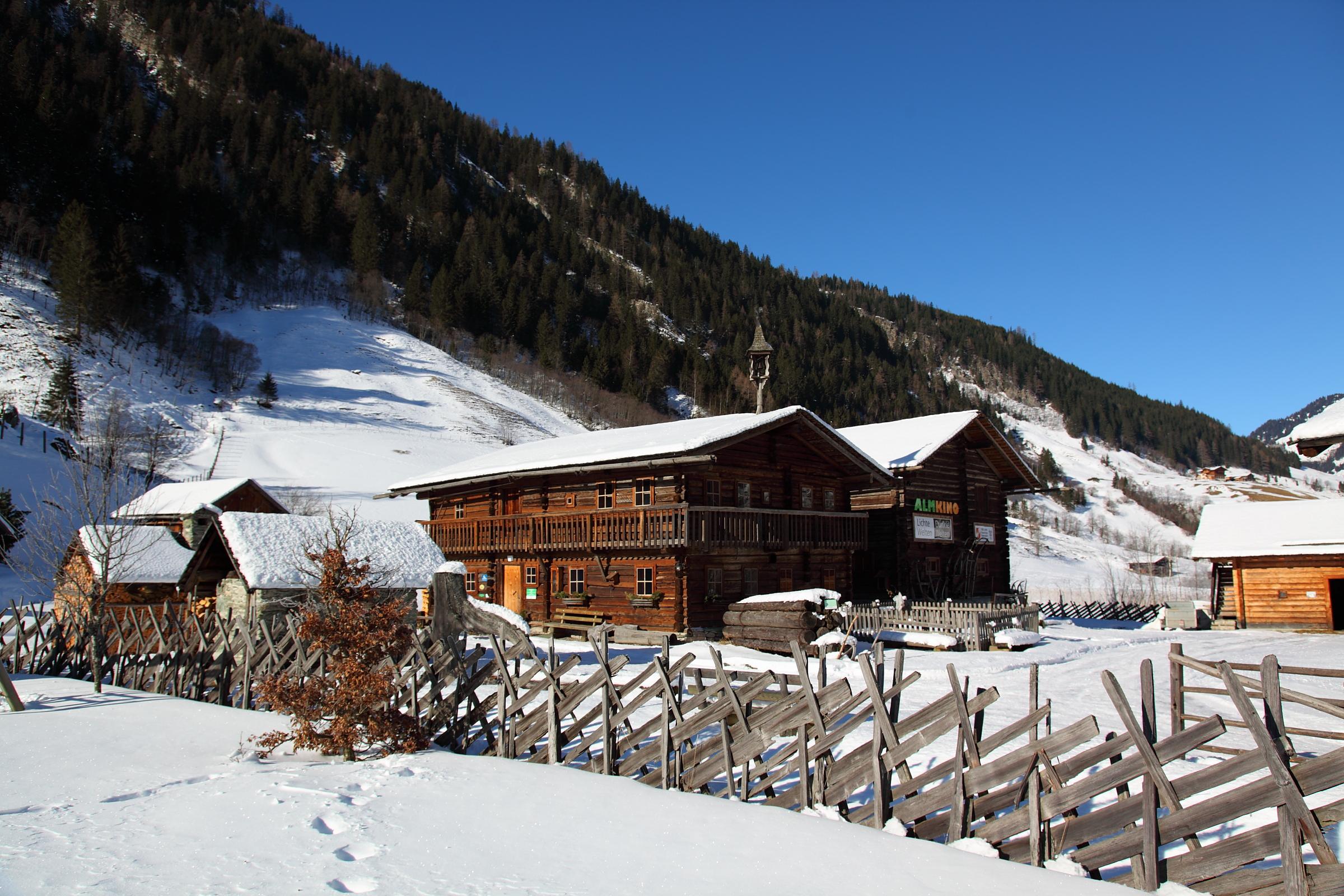 Das Museum im Winter