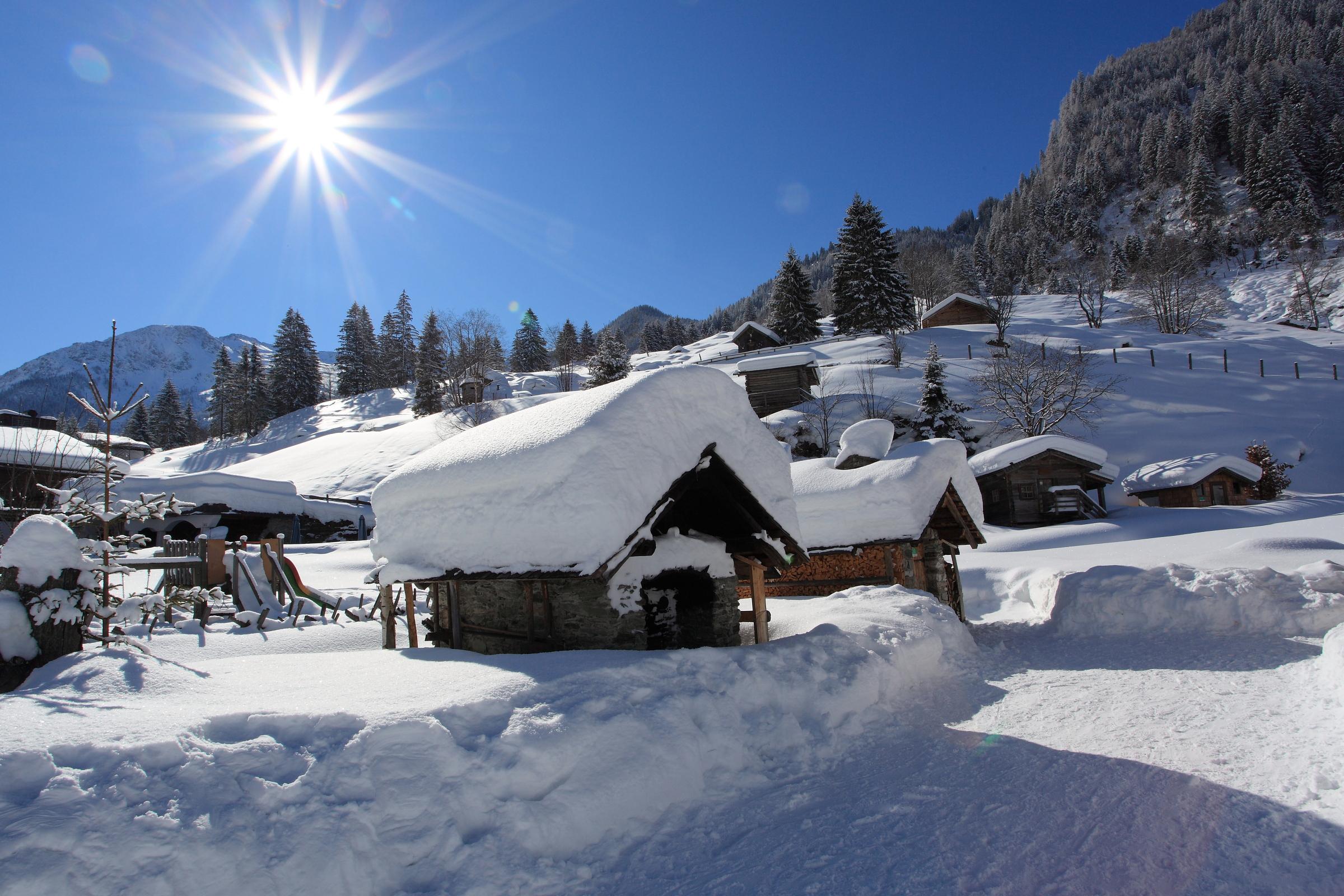 Winter im Talmuseum